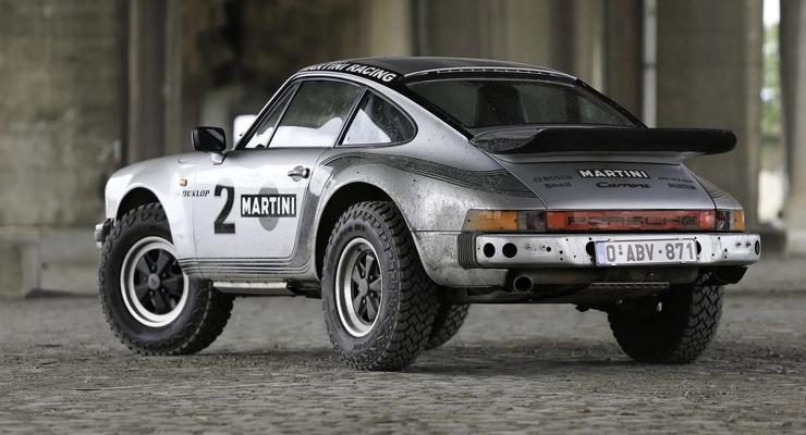 В Бельгии продают очень редкий внедорожный Porsche
