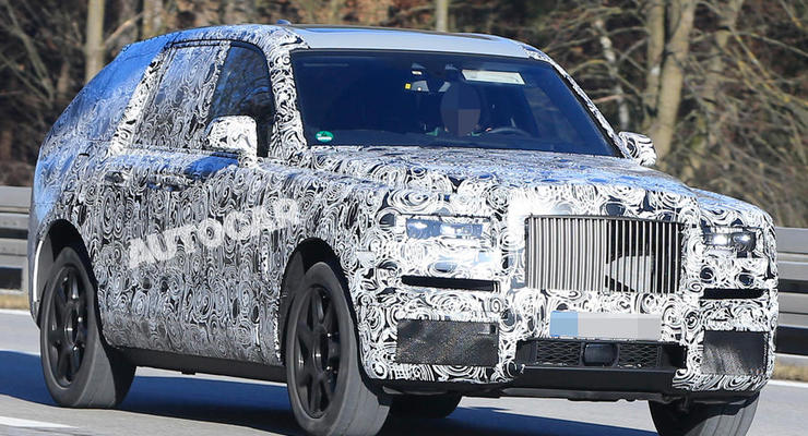 Rolls-Royce готовит самый роскошный кроссовер в мире