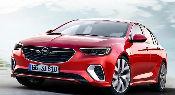 Opel показал новую спортивную Insignia