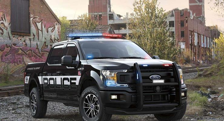 Ford представил полицейский пикап