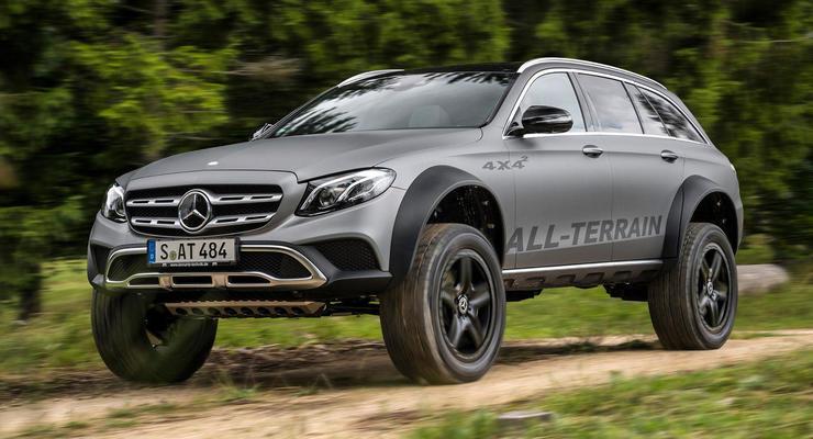Mercedes сделал идеальный универсал для украинских дорог