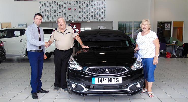 Фантастическая преданность: британец 38 лет ездит только на Mitsubishi