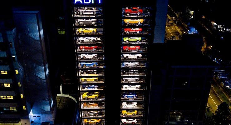 В Китае построят огромный автомат по продаже автомобилей
