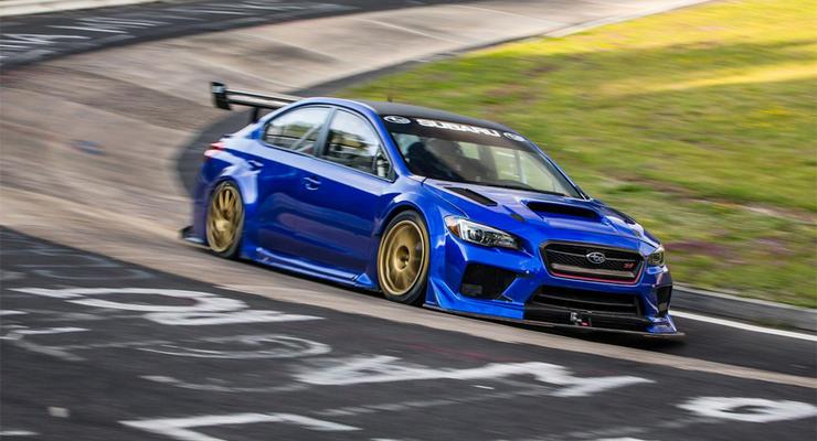 Subaru WRX STI установил рекорд Нюрбургринга