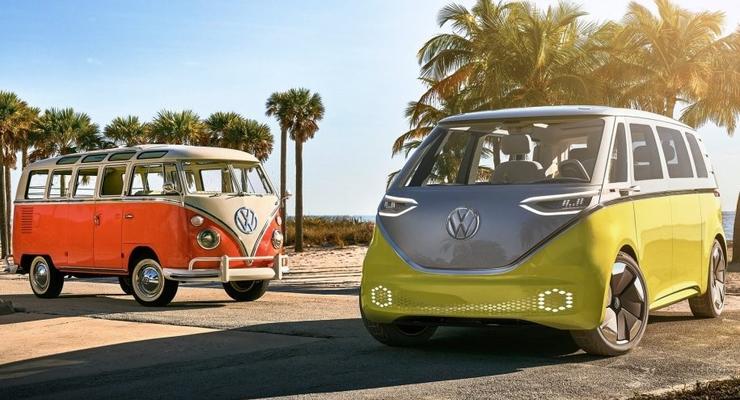 Volkswagen построит электрический хиппи-мобиль