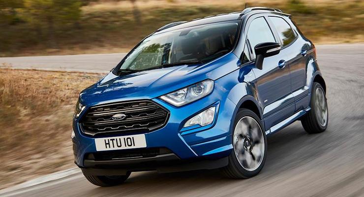Ford представил обновленный кроссовер EcoSport