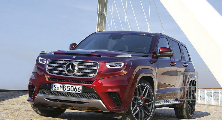 Mercedes представит новые внедорожники