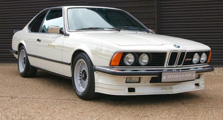 Обнаружено редчайшее купе BMW Alpina из 80-х
