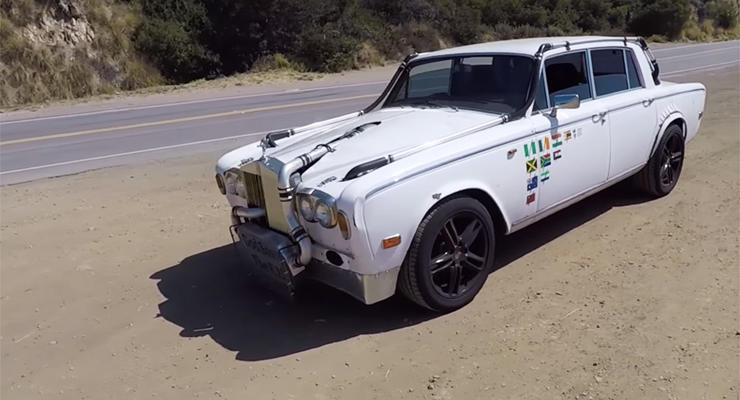 В Сети показали самый безумный Rolls-Royce в мире
