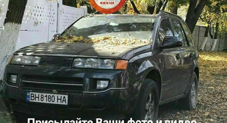 В Киеве бросили очень редкий кроссовер