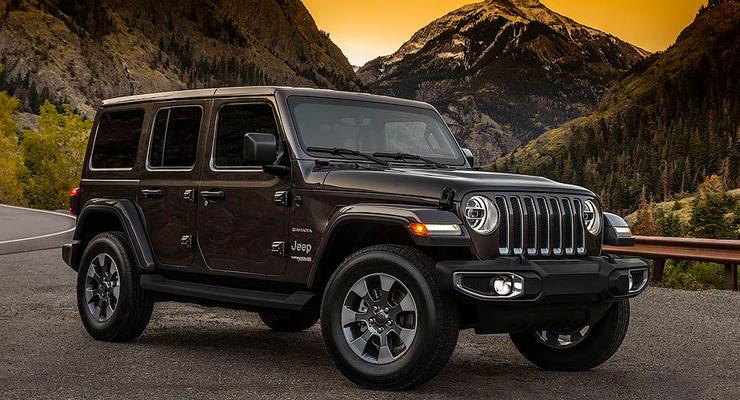 Показан Jeep Wrangler нового поколения