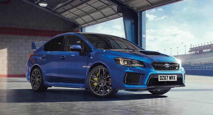 Конец эпохи: Subaru представила WRX STI Final Edition