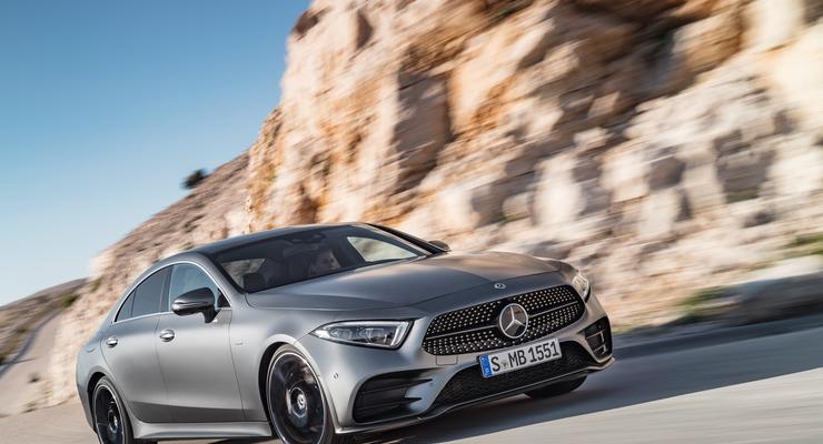 Озвучены цены нового Mercedes-Benz CLS