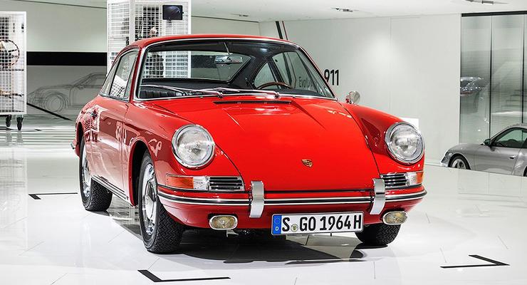 Porsche показала старейший 911-й