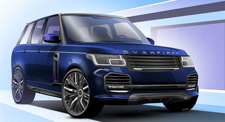 Британцы сделают из Range Rover самый роскошный внедорожник в мире