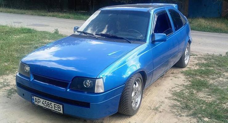 В Украине создали экстремальный Opel Kadett