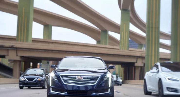 Cadillac сравнил свой автопилот с Теслой