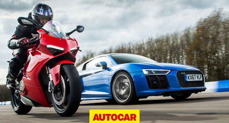 Audi против Ducati: кто быстрее?