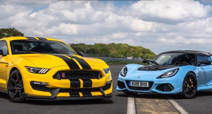 Кто кого: Hennessey Mustang GT350 R против Lotus Exige 410