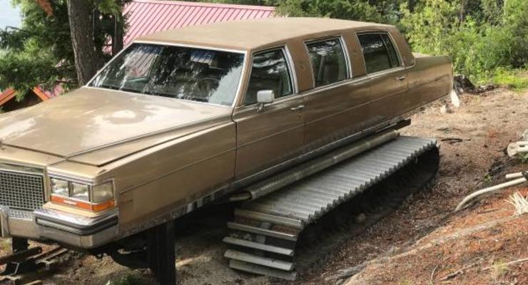 Канадец продает чудовищный лимузин-танк
