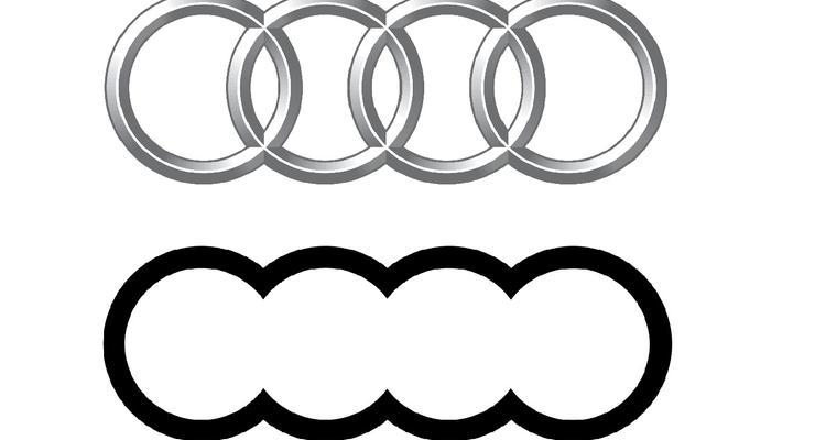 Красиво, или глупо: Появились фото нового логотипа Audi