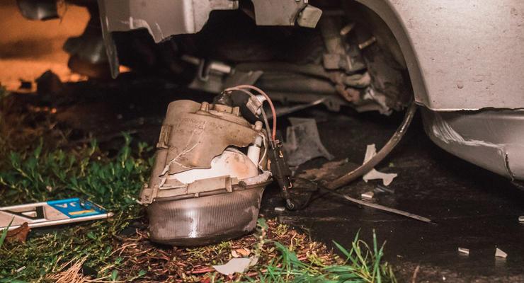 Пьяное ДТП с такси Uklon в Киеве: Пострадала девушка-пассажир