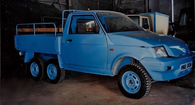 6-колесный ЛуАЗ: Неизвестные ранее концепты украинского автомобиля