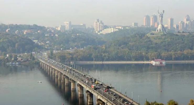 В Киеве полностью перекроют мост Патона почти на 6 часов