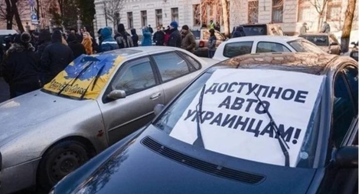 """Въезжающие в Запорожскую область """"евробляхи"""" стали регистрировать"""