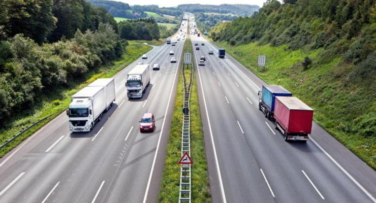 Под Киевом грузовики будут взвешивать автоматически и без остановок