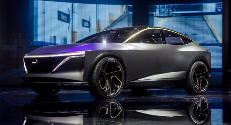 Авто будущего: Nissan представил спортивный седан-универсал на электрике