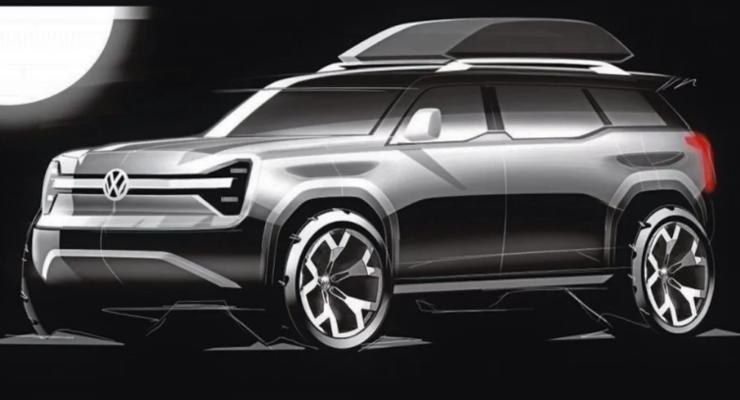 Volkswagen показал, каким будет крутой электрокроссовер T-Rug 2021