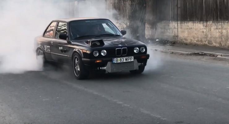 Видеоэксперимент: Подержанный BMW оснастили 1100-сильным двигателем