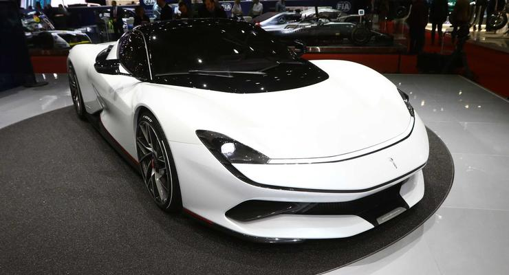 В Женеве представили супер-электрокар с разгоном как у болида Формулы-1
