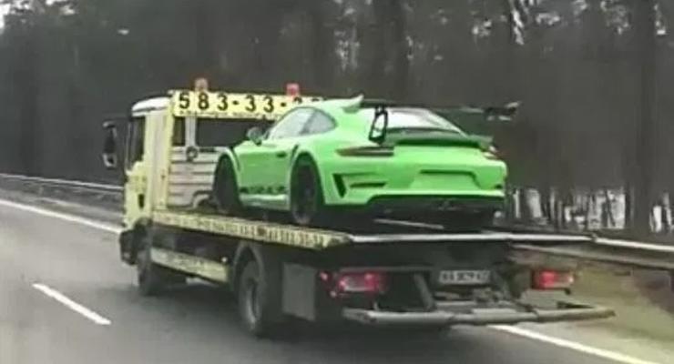 В Украине засняли эксклюзивный Porsche 911 GT3 RS за 6,4 млн гривен