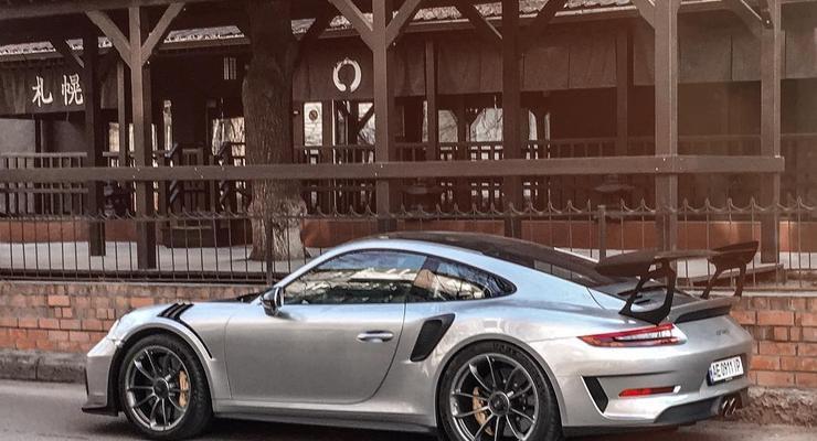 В Днепре засняли редкий лимитированный Porsche 911 GT3 RS 2019