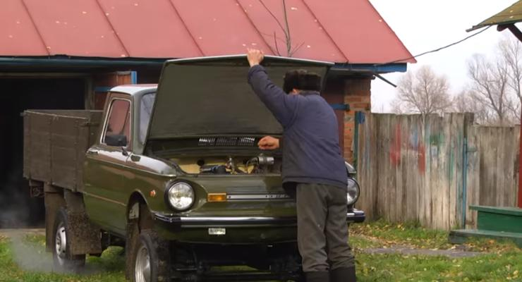 "Украинский пенсионер превратил ""Запорожец"" в настоящий грузовик"