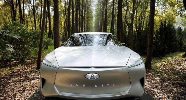 Появились первые фото нового электрического спорткара Infiniti Qs Inspiration