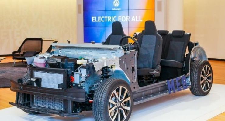 Недорогой электромобиль от Volkswagen будут выпускать возле Украины
