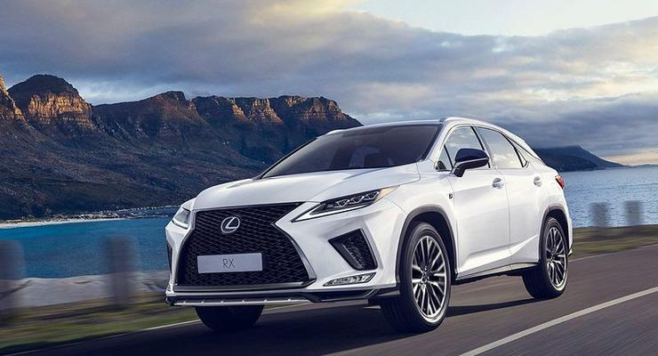 Агрессия и комфорт: Как обновили роскошный Lexus RX 2020