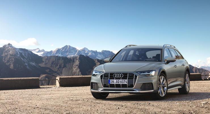 Компания Audi представила внедорожную версию универсала A6 allroad quattro