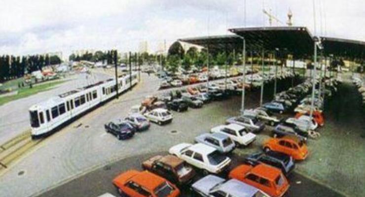 Возле центров крупных украинских городов появятся перехватывающие парковки