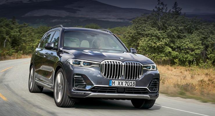 """Украинский автодизайнер объяснил большие """"ноздри"""" новых BMW X7"""
