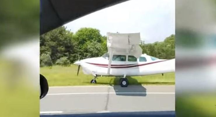 Аварийные посадки самолетов прямо на дорогу: Пятничная автоподборка #36