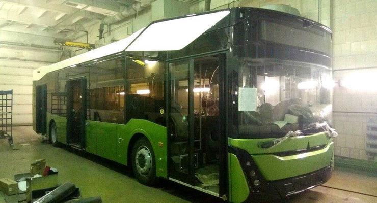 Скоро в Украине?: В Сеть выложили шпионские фото нового беларуского автобуса