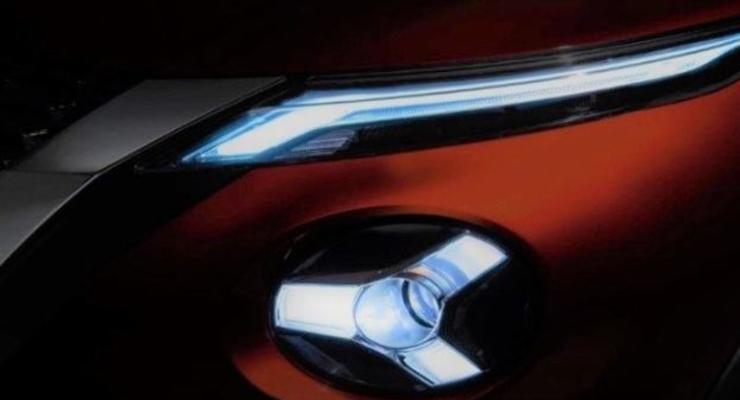 В Сети появился первый тизер нового кроссовера Nissan Juke 2020