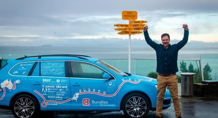 100 500 км на электрике: Нидерландец закончил самое длинное путешествие на электрокаре