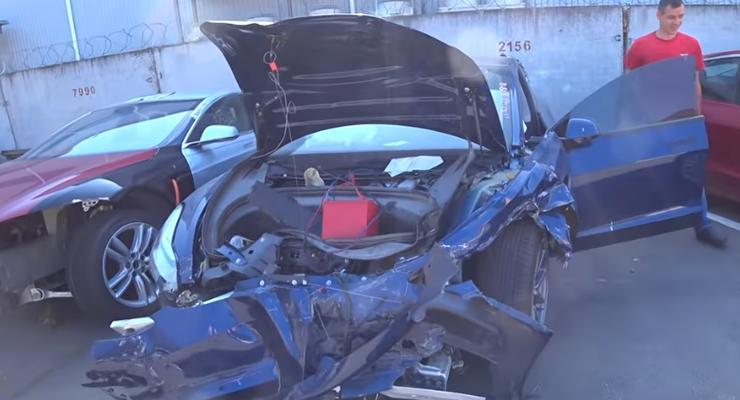 Во сколько обходится ремонт автомобиля Tesla в Украине