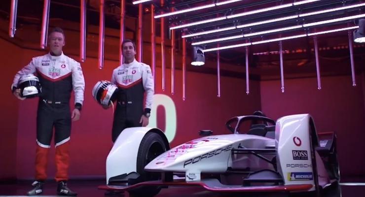 Porsche впервые показала роскошный электроболид 99X Electric