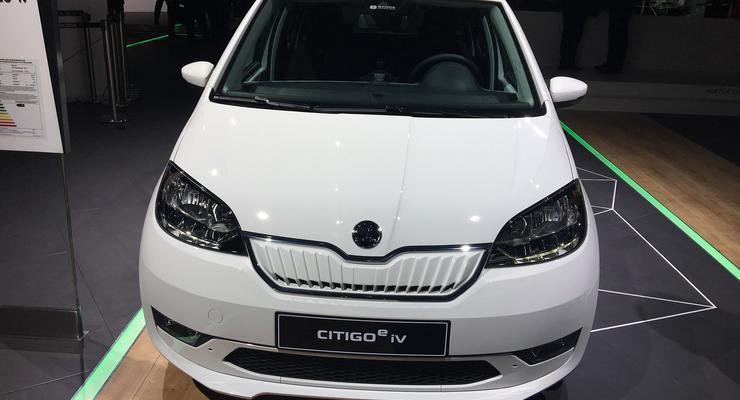 """""""Убийца Nissan Leaf"""": Skoda представила электрокар CITIGOe iV"""